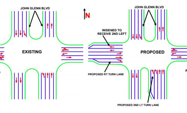 DOT outlines plan for 370-John Glenn intersection
