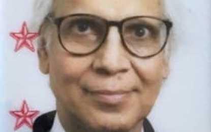 Syed Wasiqullah, 95