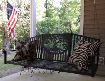 Metal Porch Swings - Home Decor