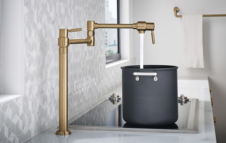 4 reasons to own a pot filler faucet
