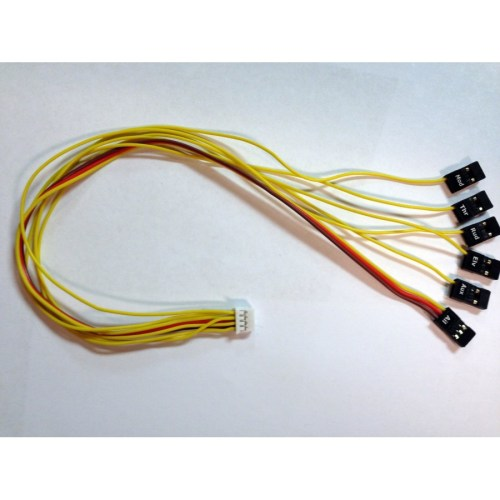 small resolution of extended 12 receiver connection harness for vector