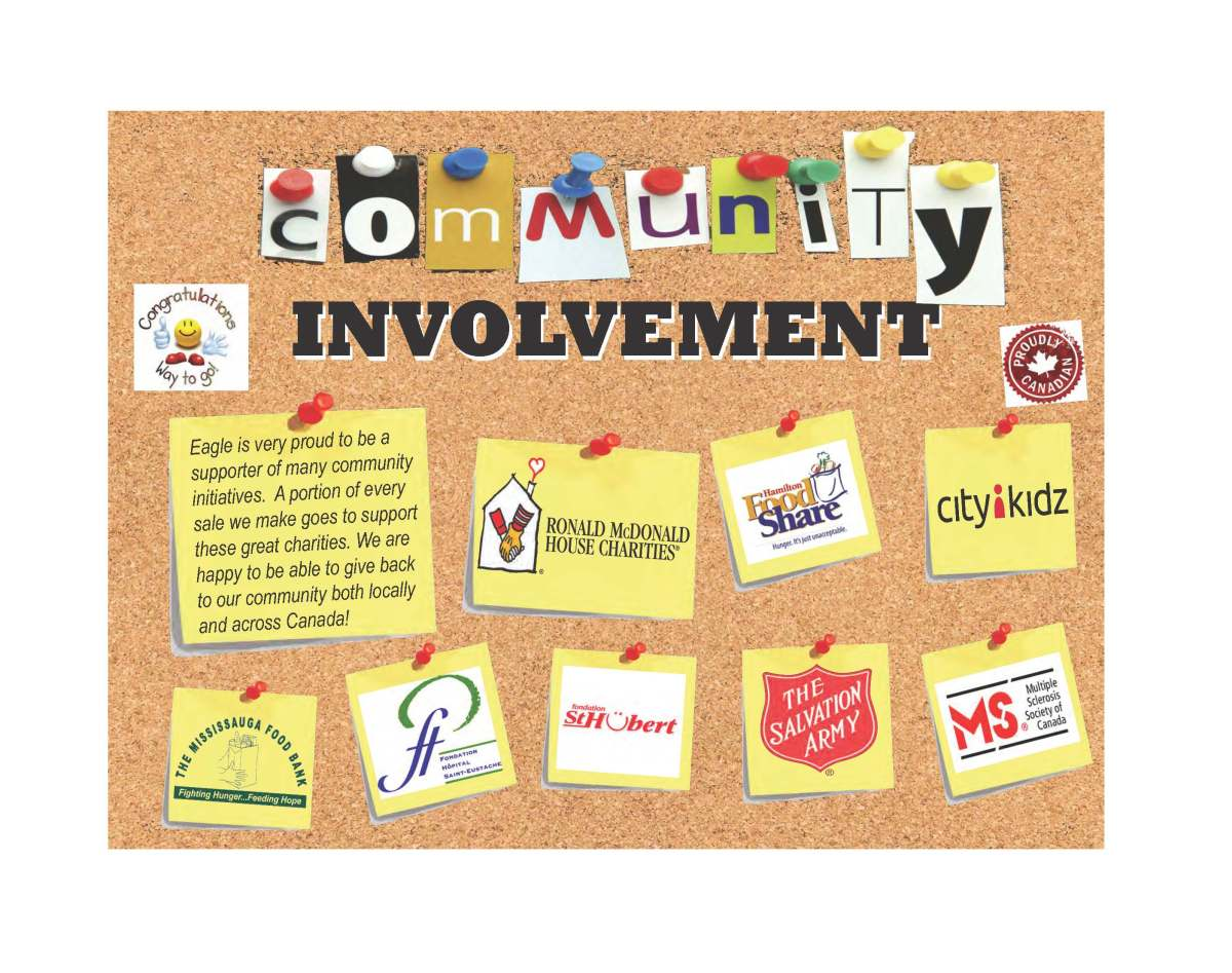 Eagle gives back to the community