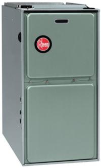 Rheem RGRS 105,000 BTU 92% FURNACE Multi-speed Fan