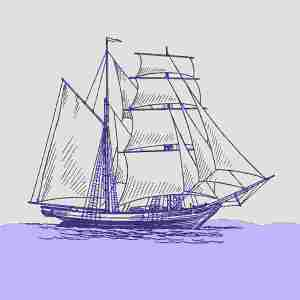 Boat illustration 7