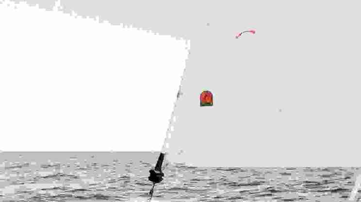 Sailing forward