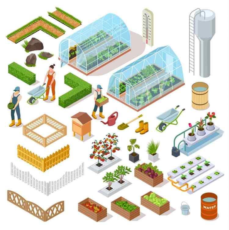 Mini Greenhouse Construction