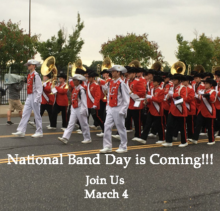 National Band Day is Coming March 4, 2018