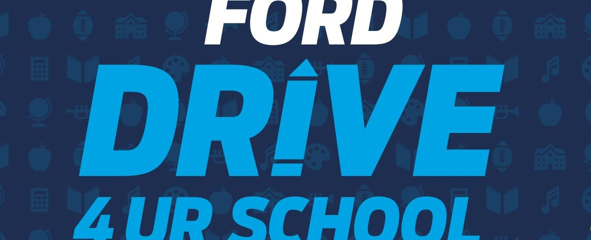 Ford Drive For Your School Banner