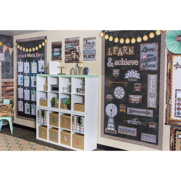 Home Sweet Classroom Wall Bulletin Board Display Set