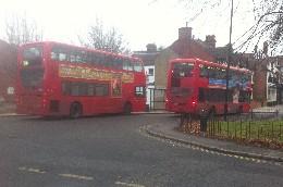 94 bus at Acton Green