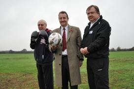 New sports pavilion at Lord Halsbury fields