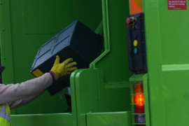 green box recycling collection