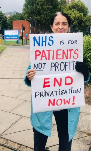 NHS is for patients