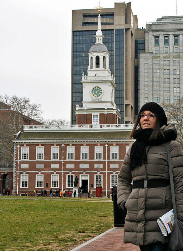 Philadelphia-Indipendent hall-USA-America