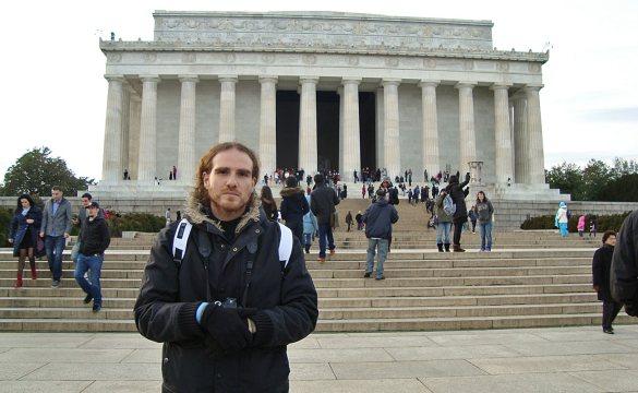 Washington-DC-National-mall-Lincoln-Memorial-USA-America