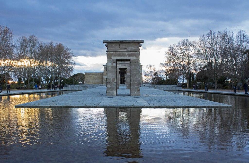 Debod tempio egizio Madrid Spagna Spain