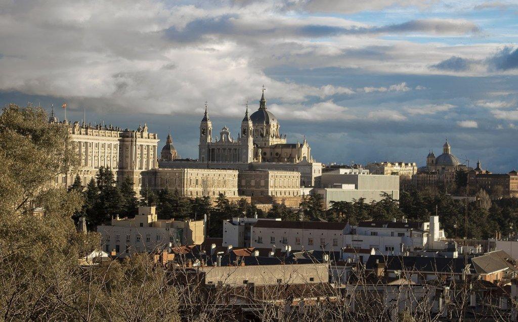 palazzo reale-panorama Madrid-Madrid-Spagna-Spain