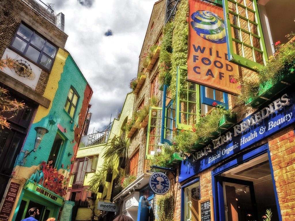 Neal's Yard-Covent Garden-Londra-London-UK-Gran Bretagna-Inghilterra-Uk