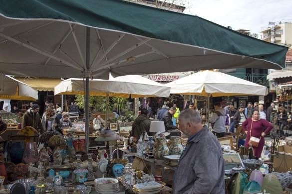 Flea market-mercato delle pulci-Atehens-Atene-Monastiraki-Grecia-Greece-Europa