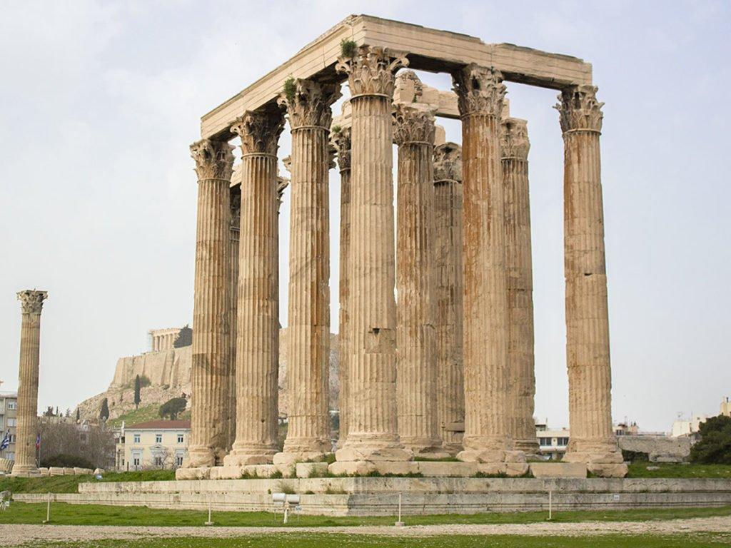 Tempio di Zeus-Grecia-Greece-Athens-Atene-Europa