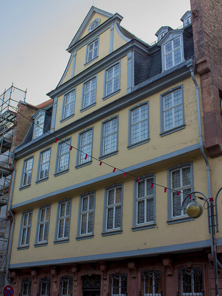 Casa di Goethe-Francoforte-Germania-Germany-Europa