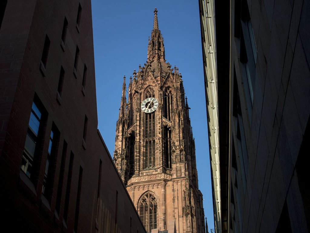 Cattedrale San Bartolomeo-Cattedrale Francoforte-Duomo Francoforte-Francoforte-Frankfurt-Germania-Germany-Europa