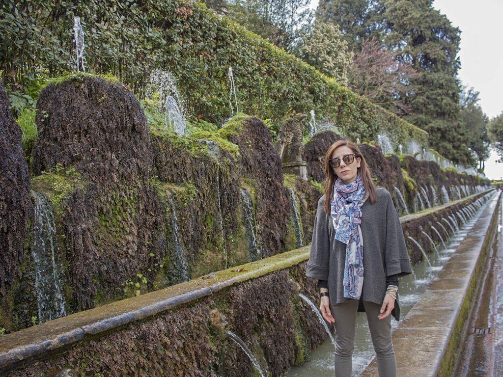 Cento fontane-Giardini Villa D'este-Villa D'este-Tivoli-Lazio-Italia-Europa