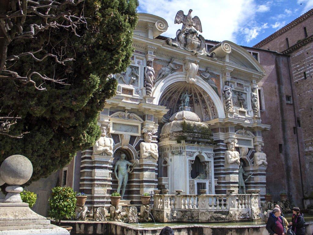 Fontana dell'Organo-Giardini Villa D'este-Villa D'este-Tivoli-Lazio-Italia-Europa
