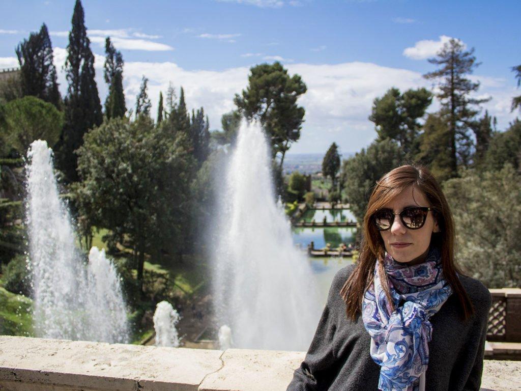 Giardini Villa D'este-Villa D'este-Tivoli-Lazio-Italia-Europa