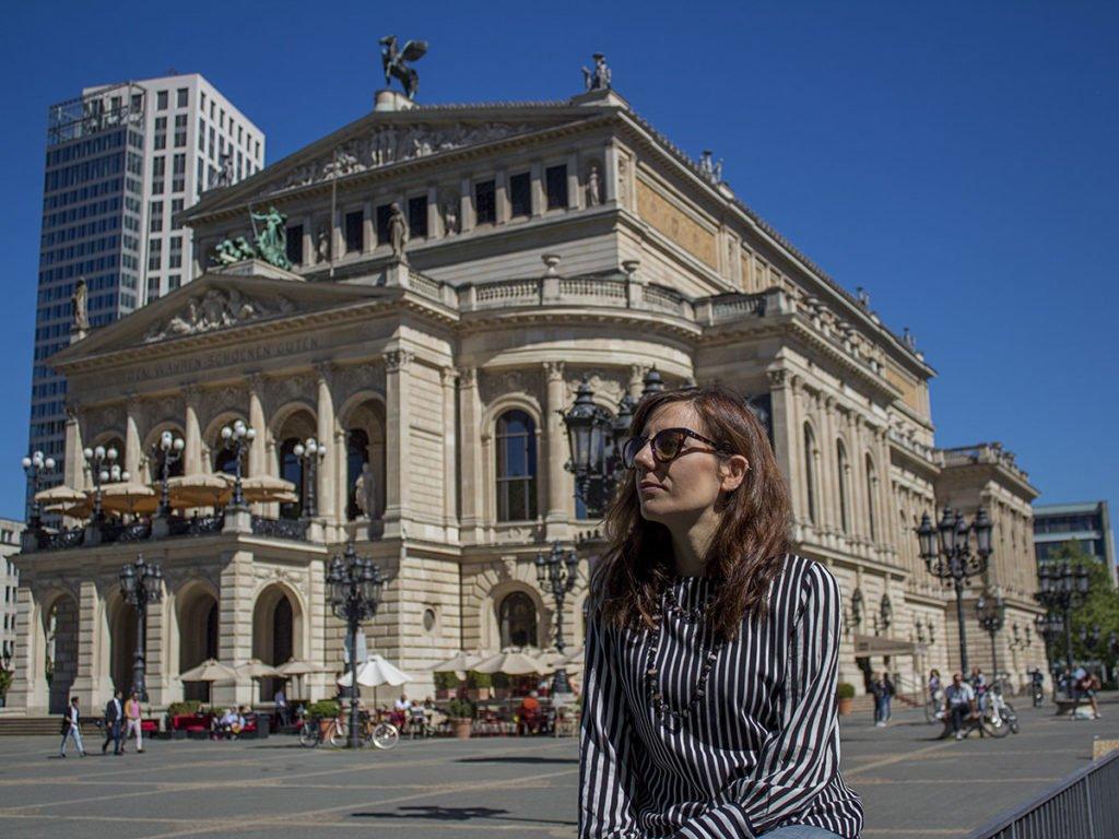Opera di Francoforte-Francoforte-Frankfurt-Germania-Germany-Europa