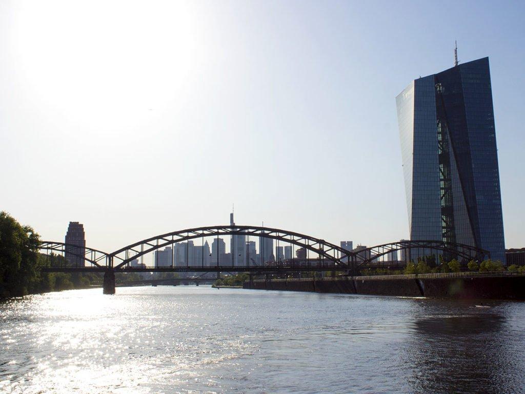 Panorama Francoforte-Skyline Francoforte-Francoforte-Frankfurt-Germania-Germany-Europa