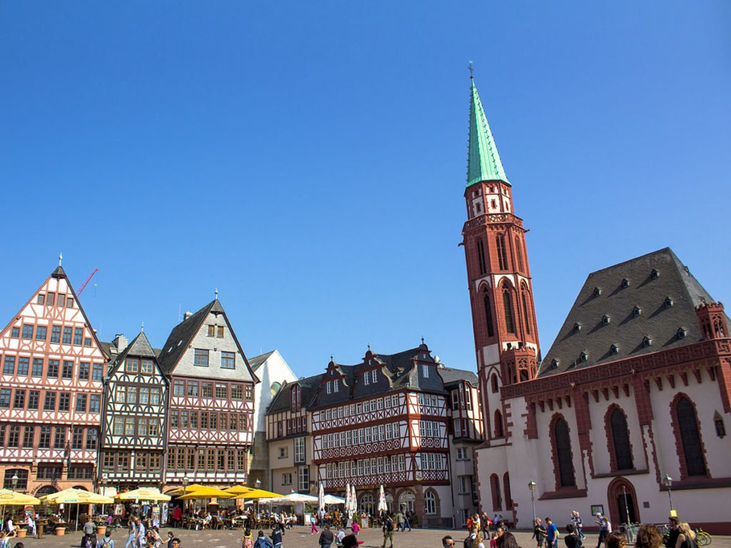 Romerberg-Francoforte-Frankfurt-Germania-Germany-europa