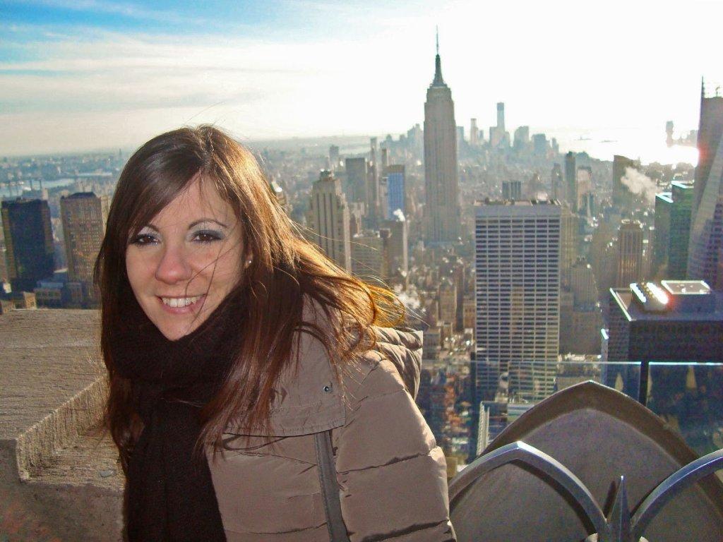 New York dall'alto-top of the rock-Stati Uniti-New York-America-USA