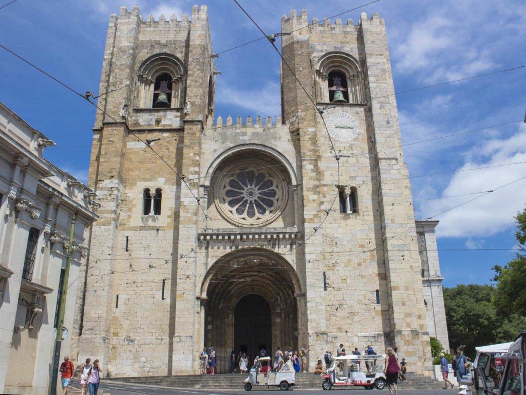 cattedrale di lisbona- Lisbona-lisbon-Portogallo-Europe-Europa