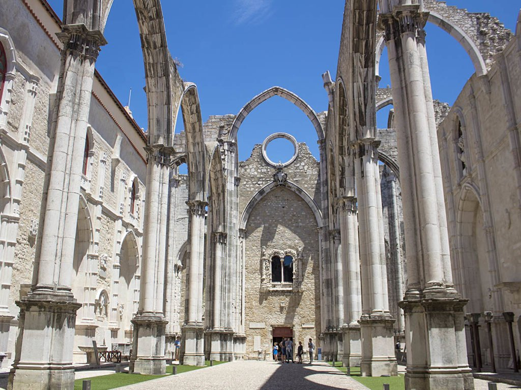 cattedrale do carmo-Lisbona-lisbon-Portogallo-Europe-Europa