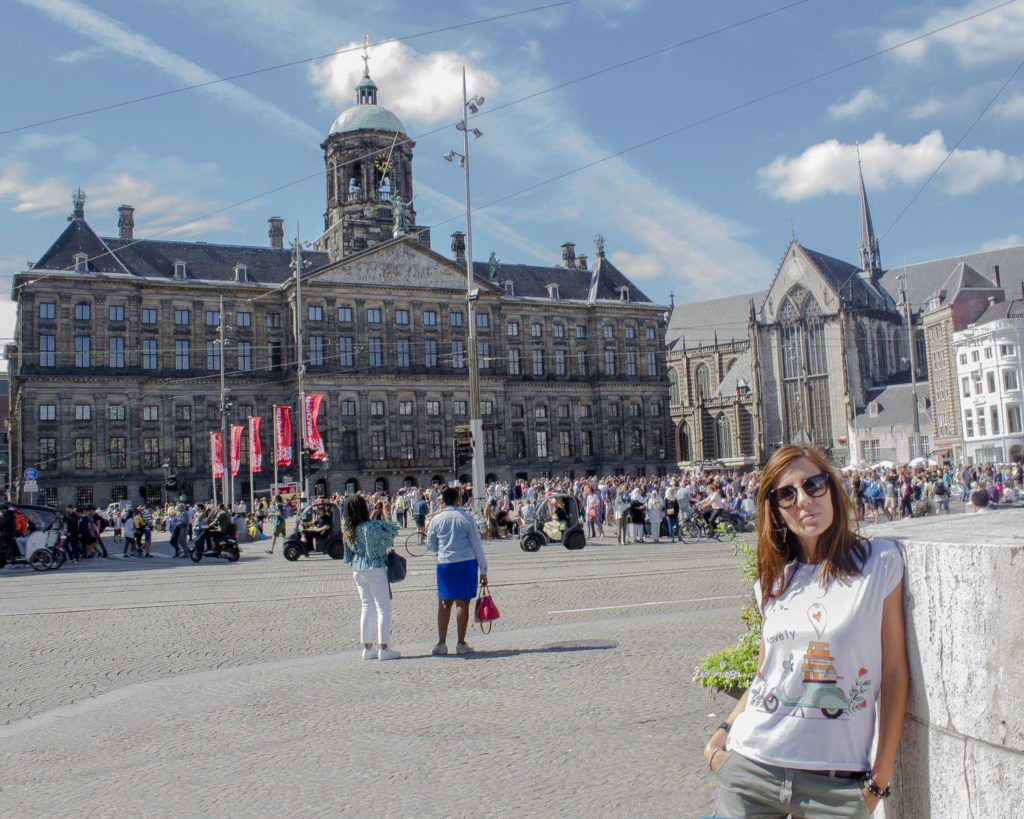 Piazza Dam-Piazza Dam Amsterdam-Amsterdam-Olanda-Holland-Netherlands-Paesi Bassi-Europa-Europe