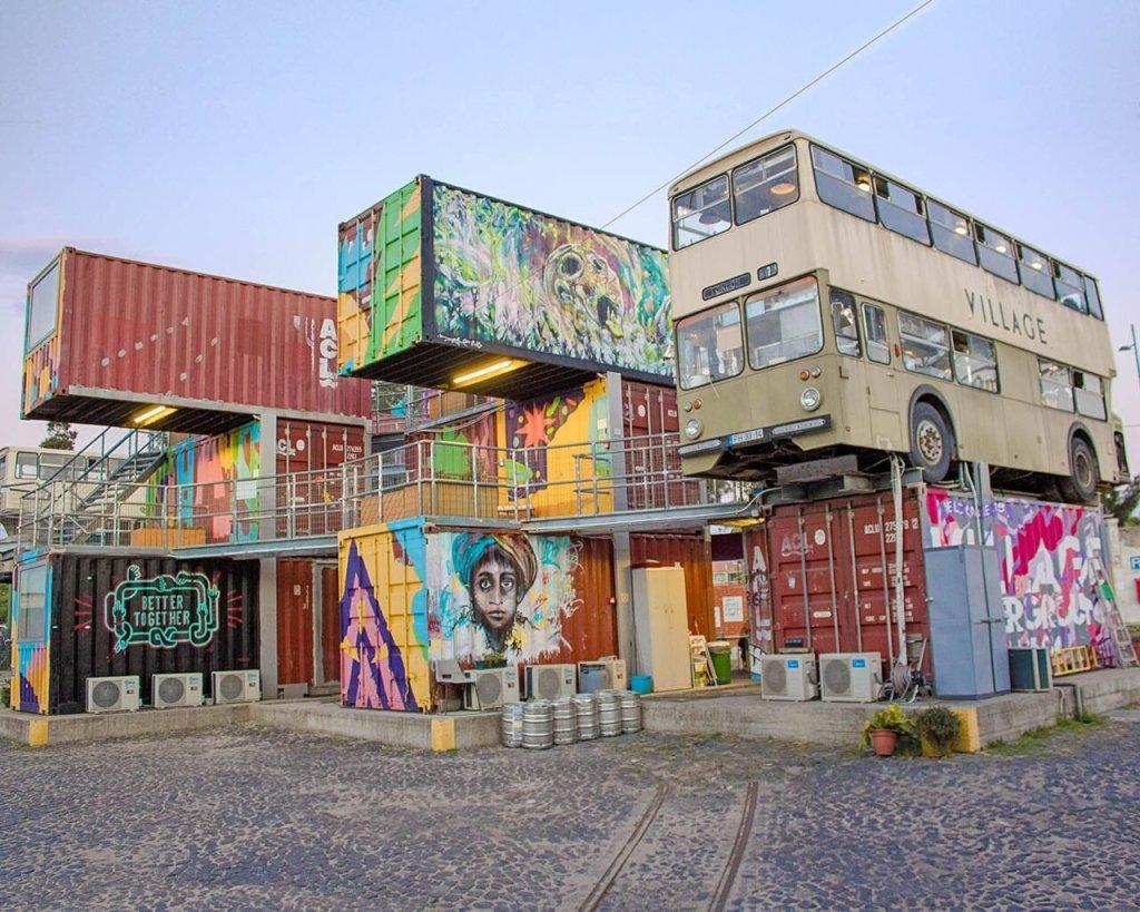 containers Village UNderground-Village Underground-Lisbona-Lisboa-Portogallo-Portugal-Europa-Europe-