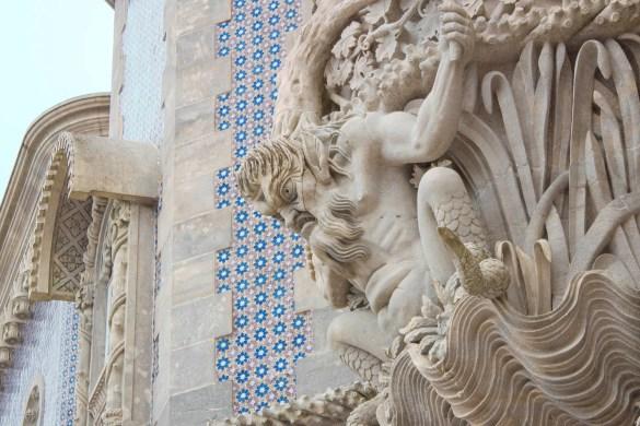 dettagli palacio de pena-Portogallo-Portugal-Europa-Europe-palacio de pena