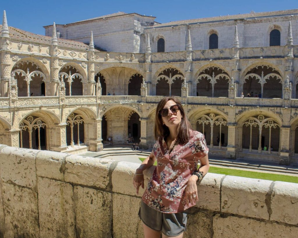 monastero dos jeronimos-monastero dos jeronismo cortile-Visitare Lisbona- Lisbona consigli pratici - Portogallo- Portugal - Europa-Lisbona