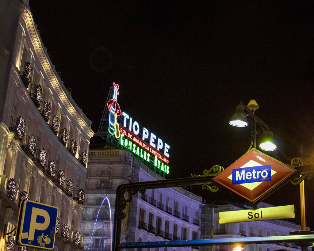 Plaza del sol-Puerta del Sol-Madrid-Spagna-Spain-Europe