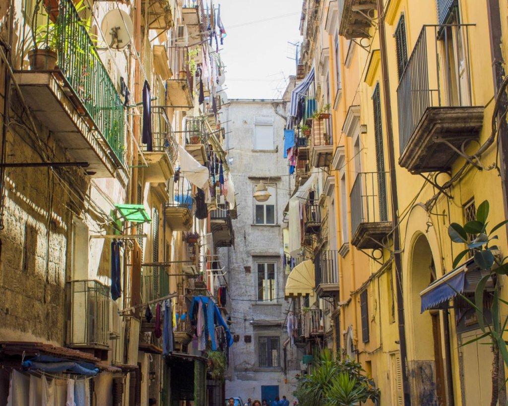 Rione Sanità-vie di Napoli-città di Napoli-Catacombe di Napoli-Napoli-Campania-Italia