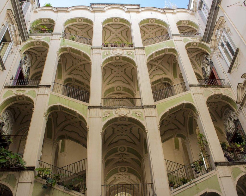 palazzo dello spagnolo-Catacombe di Napoli-Napoli-Campania-Italia