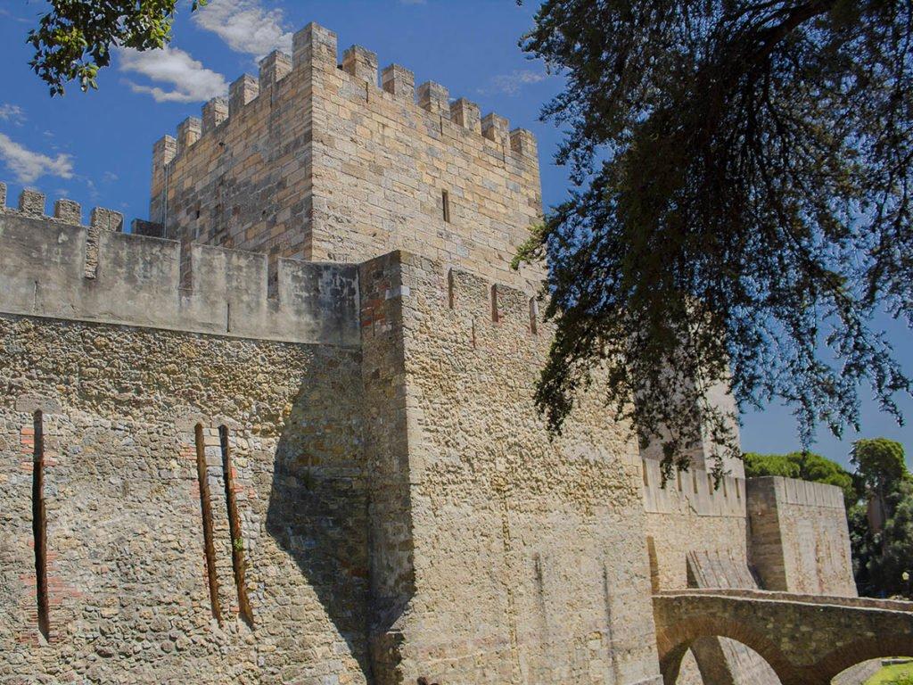 ingresso castello lisbona-castello lisbona-Lisbona-Lisbon-Portugal-Portogallo-Europa