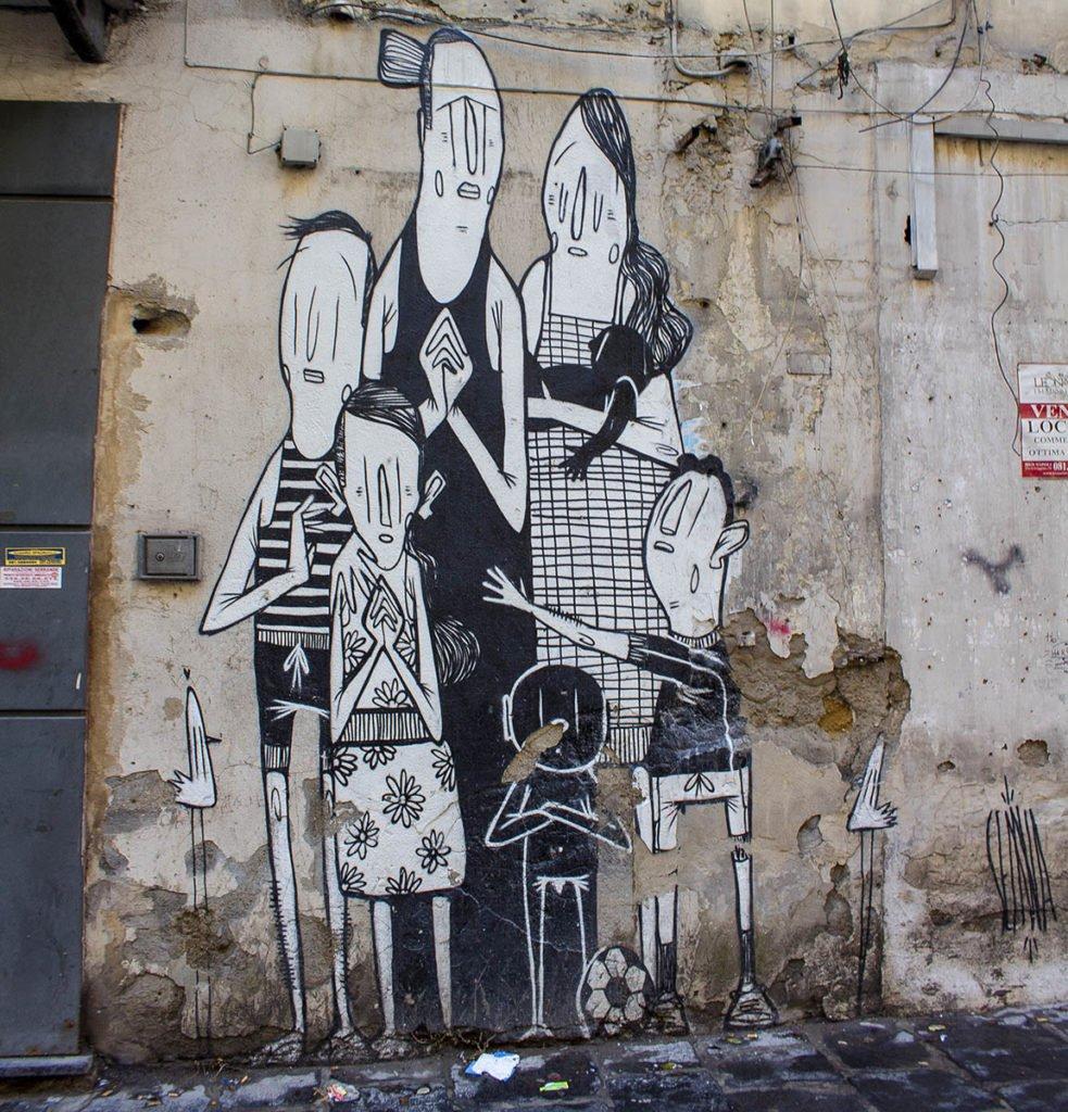 rione sanitàStreet art Napoli-Napoli-Campania-Italia