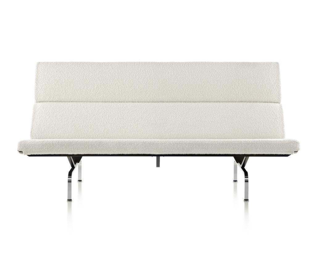eames sofa compact velvet fabric delhi lounge seating