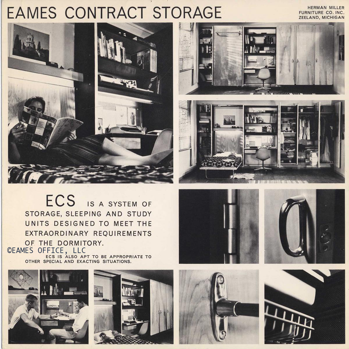 Eames Contract Storage   Eames Office