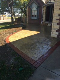 Front Yard Landscaping Ideas | Patio Design | Concrete