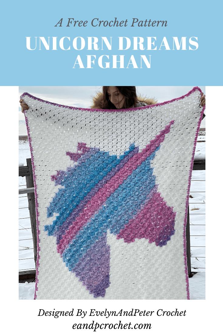 Unicorn Dreams Afghan