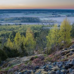 Morgonvy från Ullaviklint