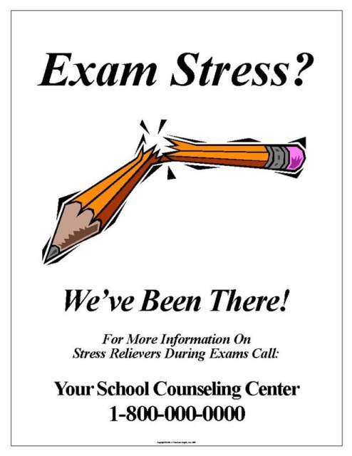 Exam Stress Poster #058